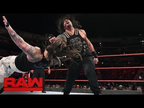Roman Reigns vs. Bray Wyatt - Elimination Chamber Qualifying Match: Raw, Feb. 5, 2018