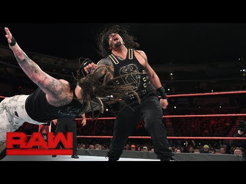 Roman Reigns Vs. Bray Wyatt - Elimination Chamber Qualifying Match: Raw, Feb. 5, 2018