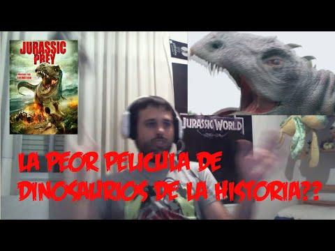 Jurassic Prey - La Peor Pelicula De Dinosaurios De La Historia