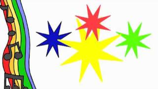 Red, Yellow, Green, Blue, Color Song For Kids