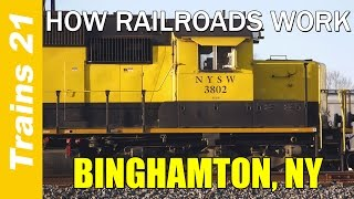 Mifflinville (PA) United States  city images : HOW RAILROADS WORK Ep. 7: Binghamton, NY