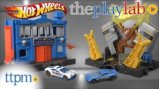Hot Wheels City Playsets from Mattel