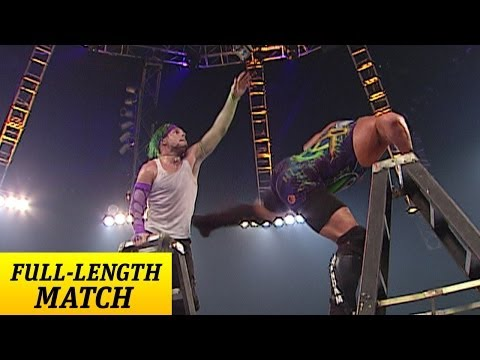 FULL-LENGTH MATCH - Raw - RVD Vs. Jeff Hardy - Title Vs. Title Ladder Match