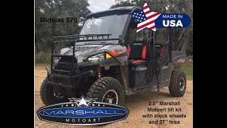 9. Polaris Ranger Midsize Lift Kit install instructions