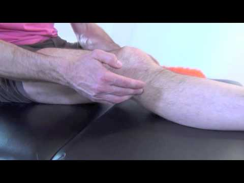 comment soigner oedeme genou