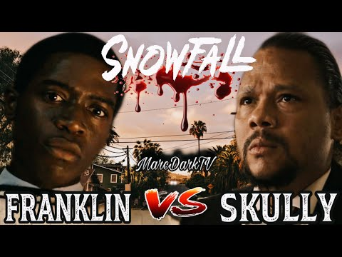 SNOWFALL SEASON 4 FRANKLIN VS SKULLY!!!