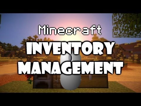 Minecraft: Inventory management tips