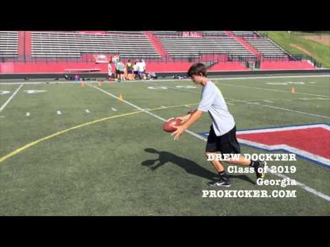 Drew Dockter, Prokicker.com Punter, Class of 2019