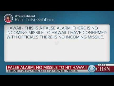 False alarm: No missile to hit Hawaii