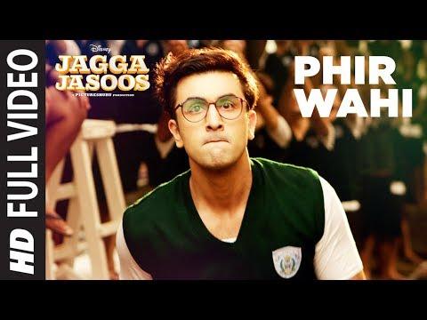 Jagga Jasoos: Phir Wahi Full Video Song   Ranbir, Katrina   Pritam, Arijit   Amitabh B