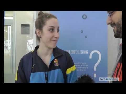 Carla Franch Campeona de España de pértiga