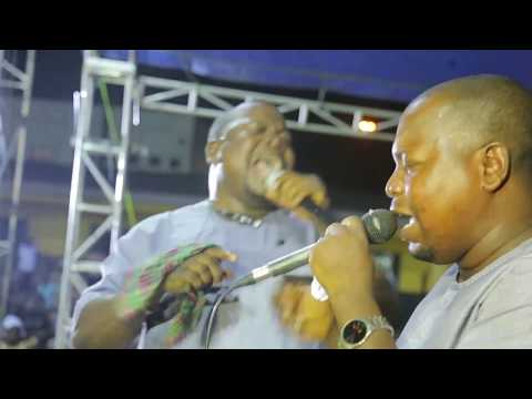 EVANG. ADEGBODU TWINS perform live on stage