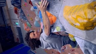 AXEL IS BOULDERING WITH US by Eric Karlsson Bouldering