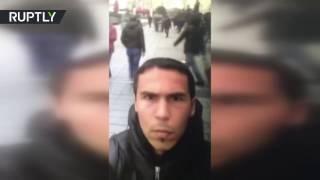 Опубликовано селфи-видео предполагаемого исполнителя теракта в Стамбуле