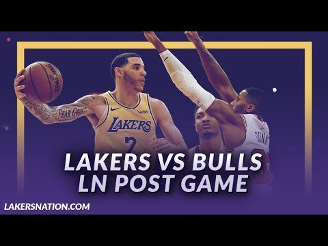 Video: Lakers Discussion: Lakers Beat the Bulls, New Starting Lineup, Lonzo w/ Team High 19 Points
