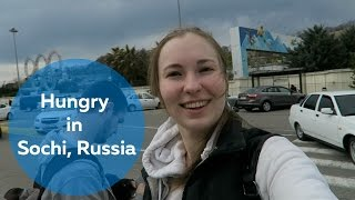 Sochi Russia  city photo : Hungry in Sochi, Sochi, Russia: | Olya Huntley [Travel] Vlog 07