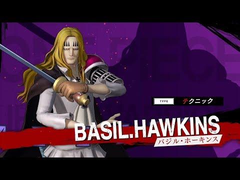 One Piece : Pirate Warriors 4 : Basil Hawkins gameplay (JP)