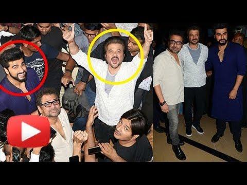Mubarakan Success | Anil Kapoor, Arjun Kapoor Cele