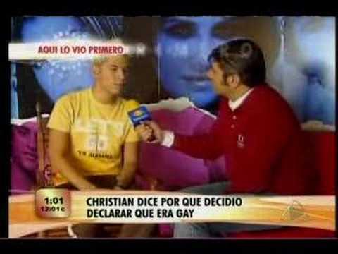 Cristian Chávez de RBD se declara Gay