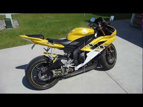 2006 Yamaha R6 50th Anniversary Edition Walk Around W 2 Brothers Exhaust