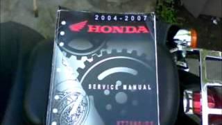 8. Honda Shadow Aero Tachometer Installation