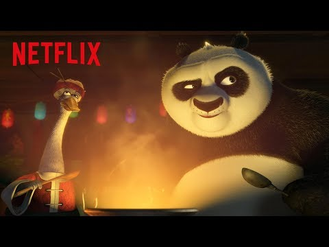 Po's Holiday Dinner | Kung Fu Panda: Holiday | Netflix Futures
