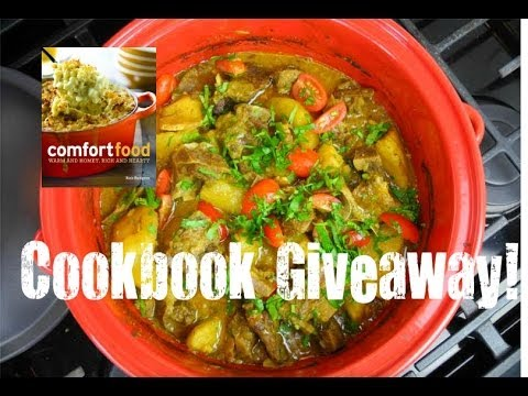 The Simplest Oven Curry Goat Recipe + Cookbook Giveaway!
