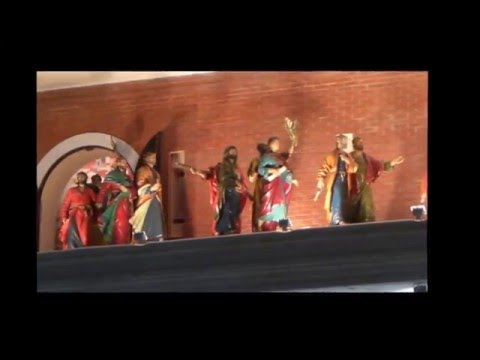 Часы 12 апостолов на Патриаршей площади в г.Йошкар-Оле.