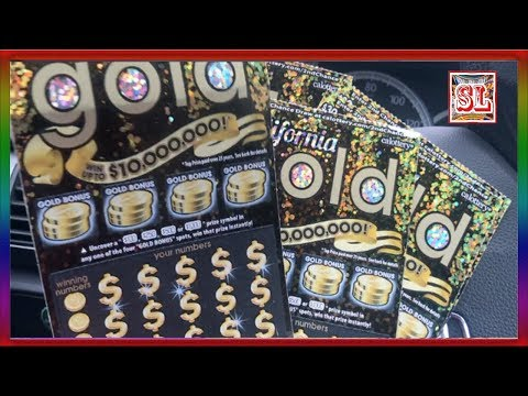 **  $300 Worth of California Gold at LunchTime  ** SL's SCRATCHERS CHANNEL **