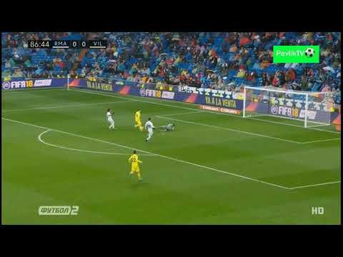 Real Madrid vs Villarreal 0-1 P. Fornals Goal