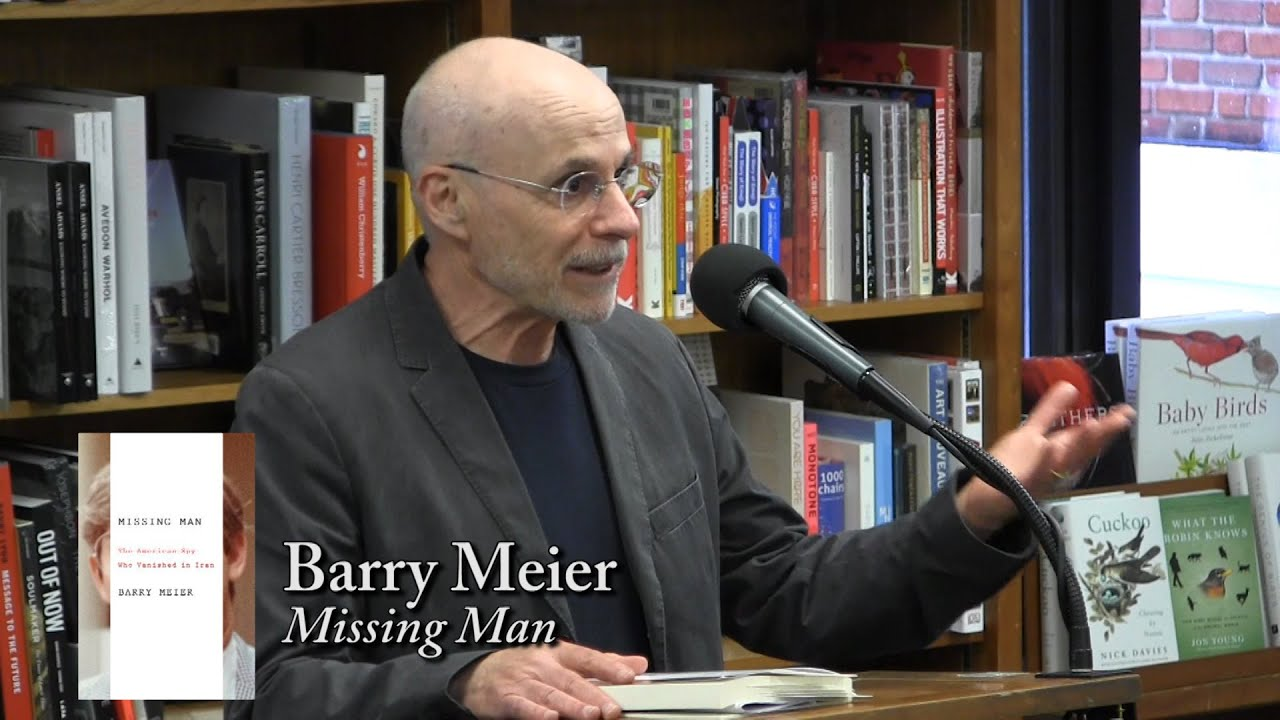 "Barry Meier Discusses ""Missing Man"" at Politics & Prose"