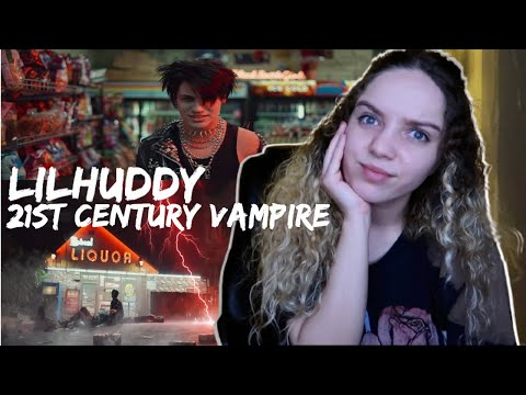 LILHUDDY - 21st Century Vampire (OFFICIAL MUSIC VIDEO) [Reaction]