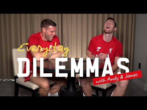 Video: Everyday Dilemmas II: Milner and Robertson | Pineapple on pizza, meal deals & chicken or the egg?