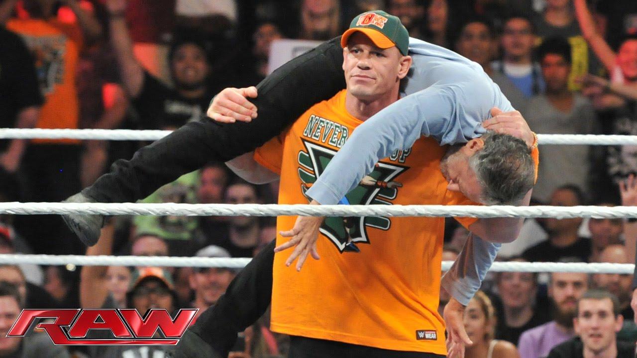John Cena confronts Jon Stewart: Raw, Aug. 24, 2015