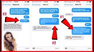 Video 3 SMS EFFICACES POUR RELANCER UNE FILLE QUI IGNORE TES MESSAGES MP3, 3GP, MP4, WEBM, AVI, FLV September 2017