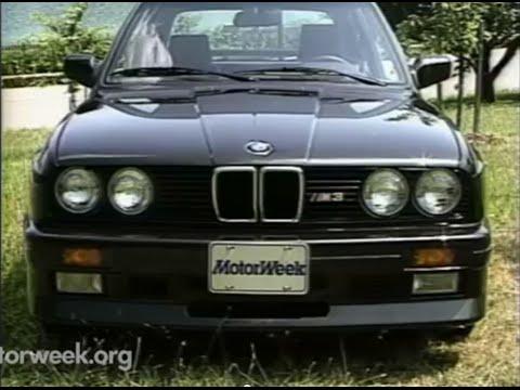 MotorWeek | Retro Review: BMW E30 M3