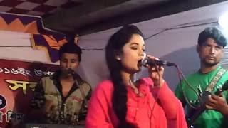 bangla most popular song cover by live antu moni in savar nama bazar live concert- Savar Namabazar Hal Market