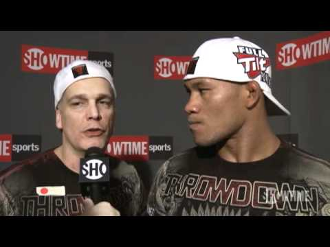 Jacare Post Fight Interview vs Robbie Lawler