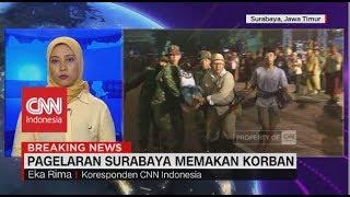 Video Pagelaran 'Surabaya Membara' Memakan Korban Tertabrak Kereta MP3, 3GP, MP4, WEBM, AVI, FLV November 2018
