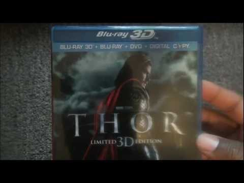 Thor Limited Edition 3d Blu-ray Unboxing!!!!
