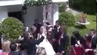 How Not To Throw Confetti At Wedding - Grandma did it!