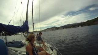 Navegar a vela en agosto por las Azores
