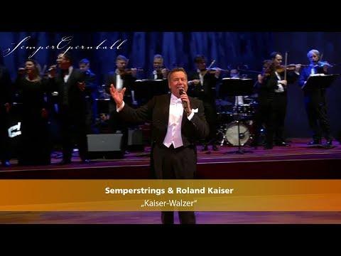 Semperstrings & Roland Kaiser: »Kaiser-Walzer« | Semperopernball 2019 | MDR