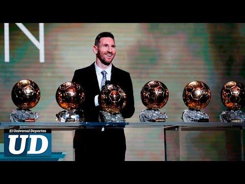 🏆⚽ Lionel Messi gana su sexto Balón de Oro ⭐🔥