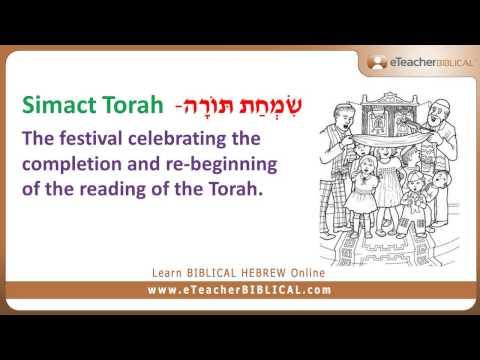 Questions of the week learn biblical hebrew greek with eteacher simchat torah m4hsunfo