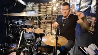 Black Milk - Nechci tě trápit - Drum Cover Mika Ronos