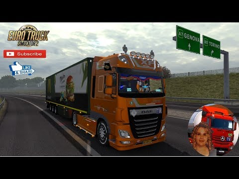 Exterior view reworked for DAF XF Euro 6 v1.2