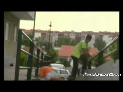0 Video:  Parkour Fails Compilation 2011
