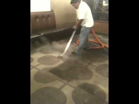 Steam carpet cleaning / in san diego