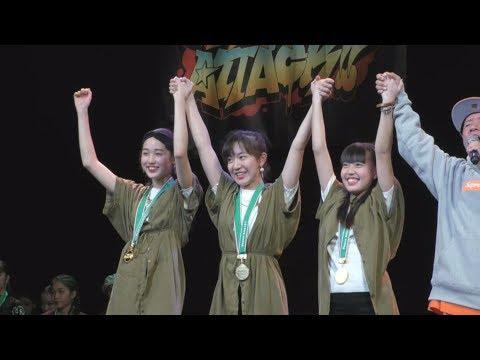 「DANCE ATTACK!! TOKYO 」結果&動画